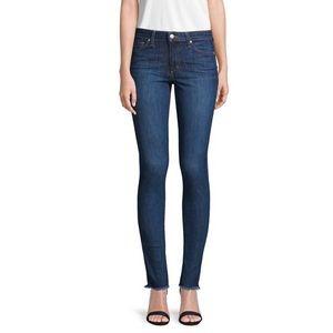 Joe's Jeans Octavia skinny ankle fringe size 27